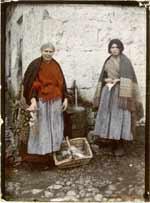 Bild på fiskhandlerskor