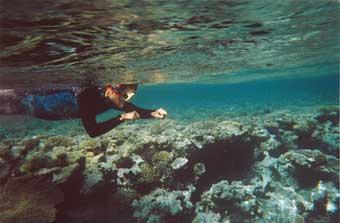 undervattenssimmare
