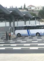 Checkpoint utanför Hebron