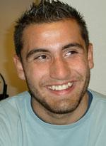 Porträtt på Sanel Bayrami.