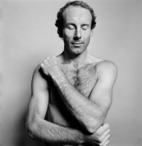 Hans Gedda fotograferar Ingemar Stenmark