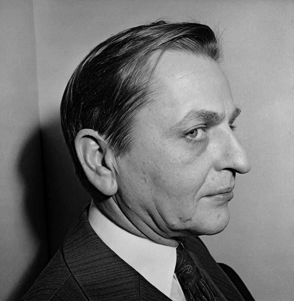 Olof Palme. Foto Hans Gedda