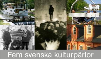 Tema: Fem svenska kulturpärlor