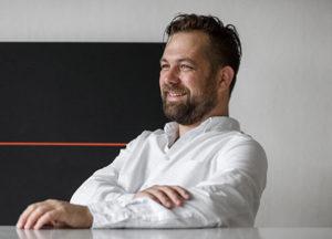 Porträtt Martin Engberg. Foto Kalle Sander.