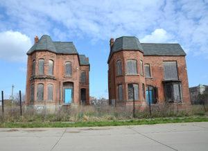 Övergivna hus i detroit 2015