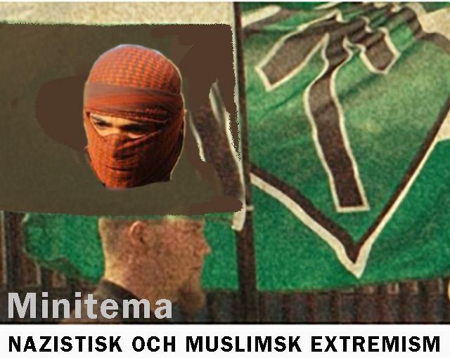 Minitema: nazistisk och muslimsk extremism