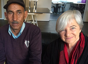 Eid Abu Khami och Angela Godfrey-Goldstein