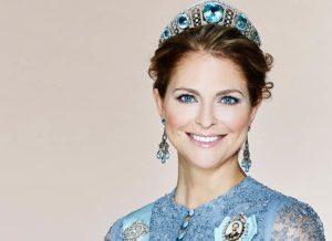 Foto på prinsennan Madeleine