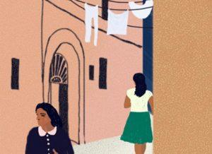 Vinjettbild till Elena Ferrante.