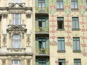 Arkitektur Wien. Arkitekt Otto Wagner