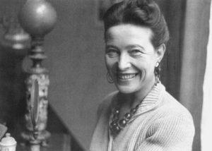 Vinjettbild: Simone de Beauvoir