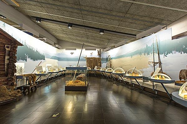 Utställningen Nybyggarliv.