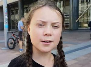 Vinjettbild: Greta Thunberg