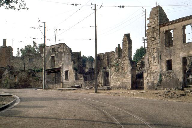 Bild från Oradour.