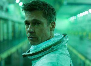 Bild: Brad Pitt i flmen Ad astra.