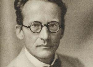 Vinjettbild på Erwin Schrödinger.