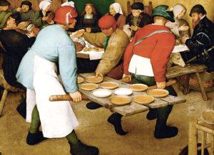 Vinjettbild: Pieter Bruegel, detalj.