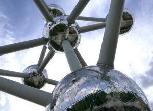 Vinjettbild: Atomium i Bryssel.