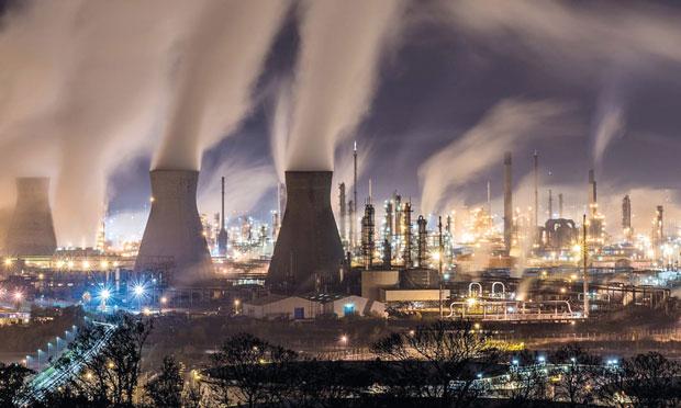 Raffinaderi i Skottland