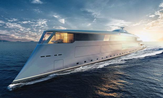 Bill Gates lyxbåt för 650 miljoner dollar.