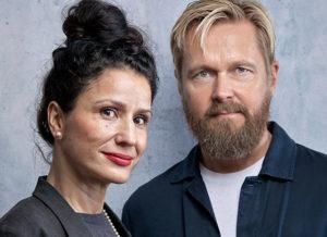 Bild: Sanna Sjöswärd och Björn Wiman.