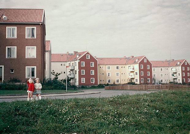 Östra Vintergatan 1950.