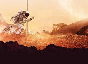 Bild: Utställningen Going to Mars, The Design Museum of London.